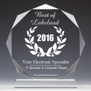 Your Electronic Specialist - Best IT Services & Computer Repair - Best of Polk 2016